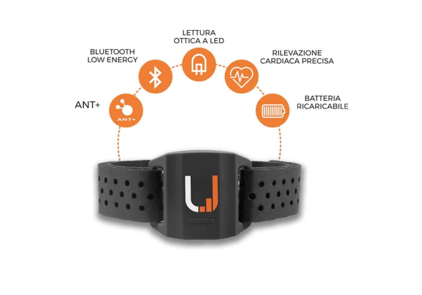 Un bracelet<br />« Uptivo Armband»