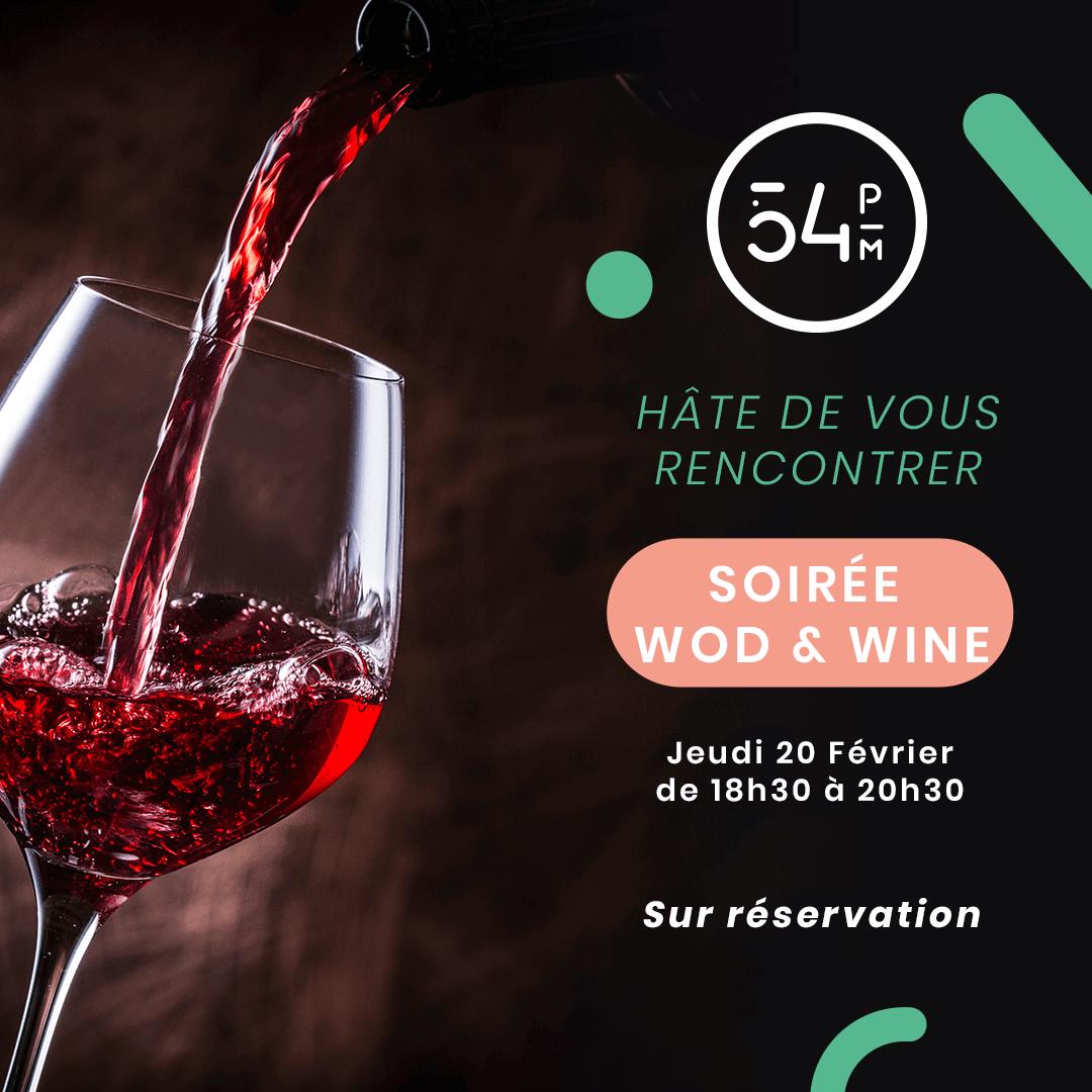 Soirée Wod & Wine
