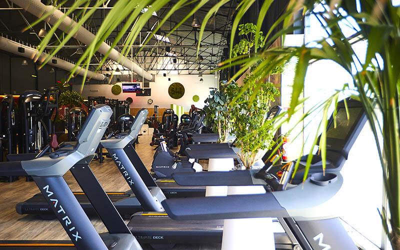 L'intérieur du club de sport 54pm à Mulhouse