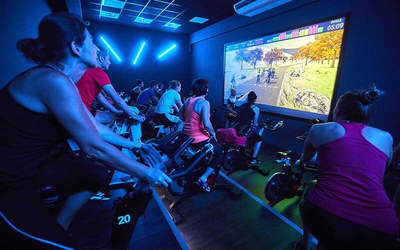 Un cours collectif de biking à Illzach