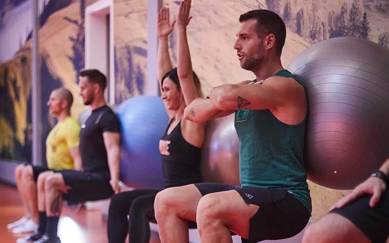 Un cours de fitness avec ballon à Illzach
