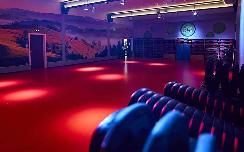 Un cours collectif de fitness à Mulhouse