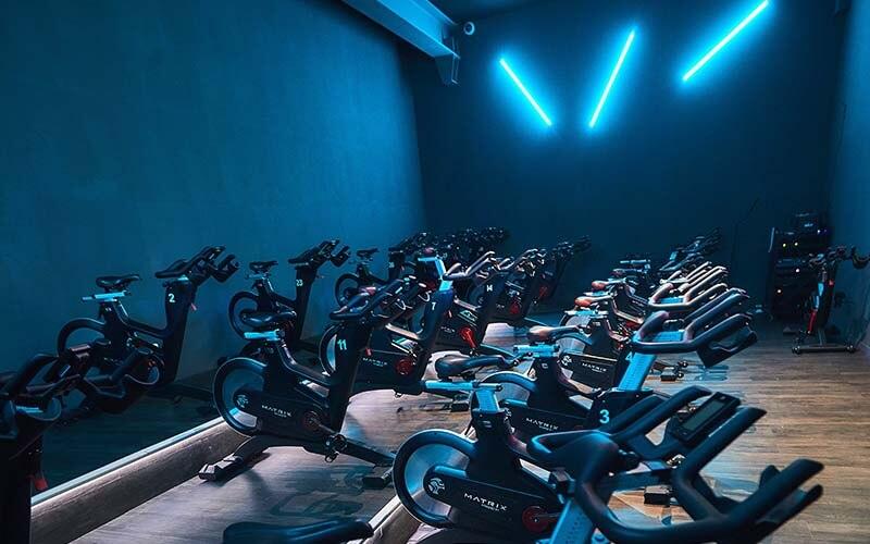 Des vélos de fitness à Mulhouse