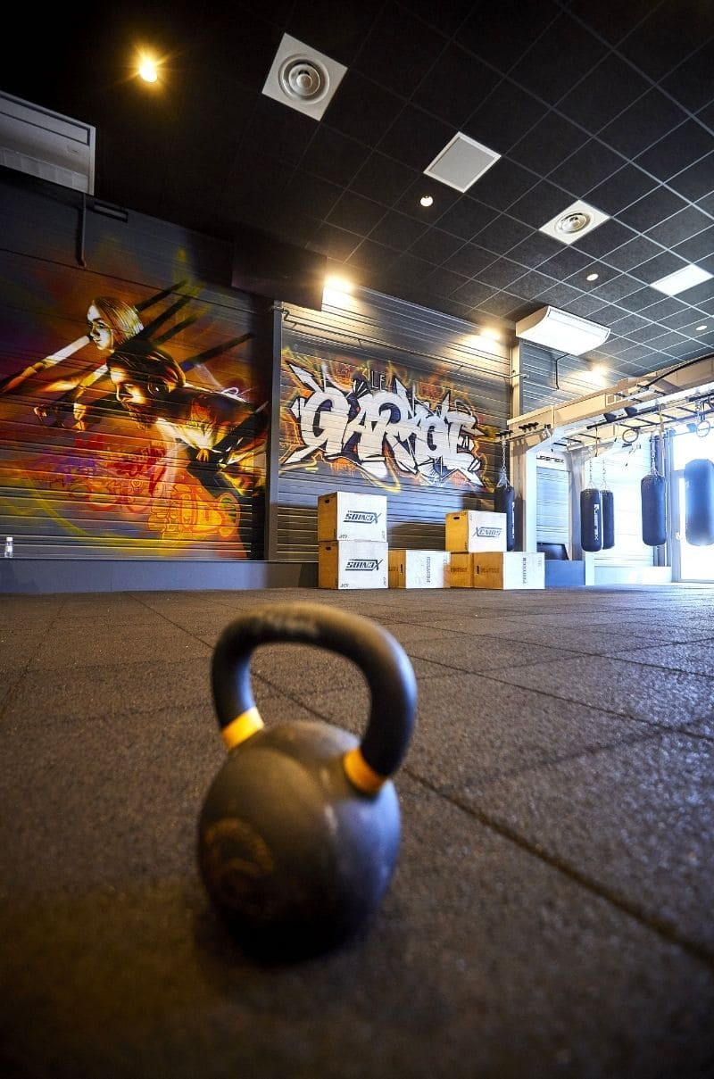 Un cours de gym collectif à Mulhouse