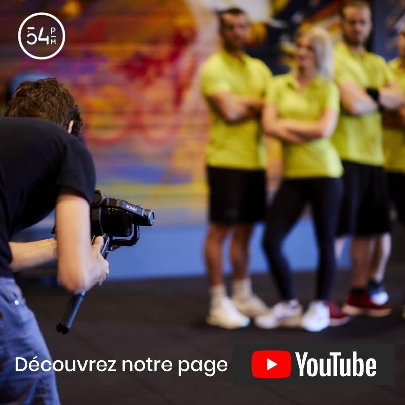 Découvrez notre page YouTube