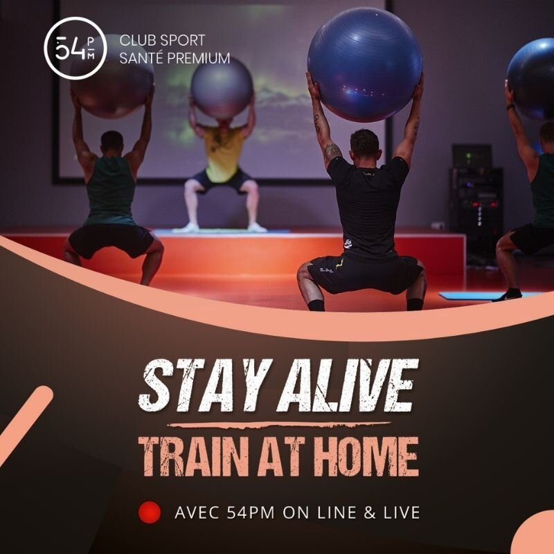 STAY ALIVE / TRAIN AT HOME